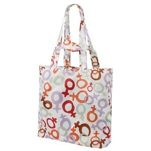 Reusable Shopping Bag Multicolor Female Sign NEW